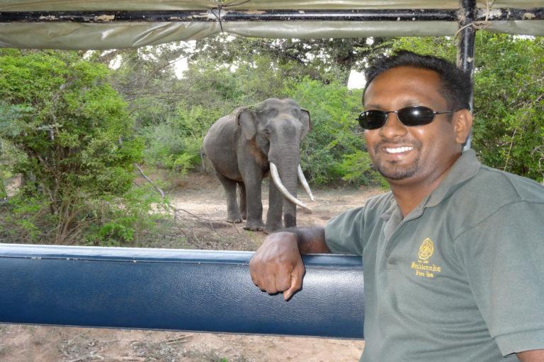Lalantha - éléphant - Sri Lanka